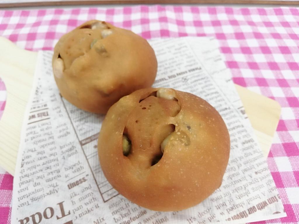 黒糖豆パン